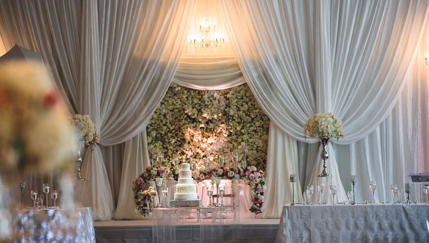 wedding decorator in Surrey